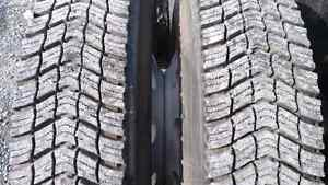 11r 24.5 winter tires and chains