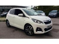 2016 Peugeot 108 Hatchback 1.2 PureTech Allure 5dr Manual Petrol Hatchback