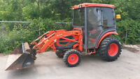 Kioti DK30 Cab Tractor with Loader