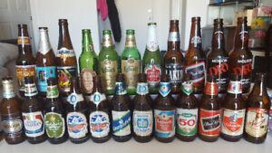 Lot de 23 bouteilles de bières ( Vides )