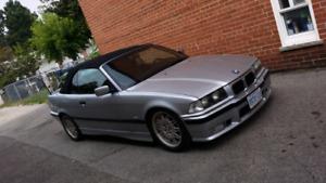 1995 BMW 325IC.  101000kms