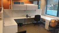 5x6 Evolve Systems office cubicle