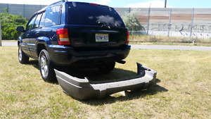 "02 Jeep Grand Cherokee "" Rear bumper cover """