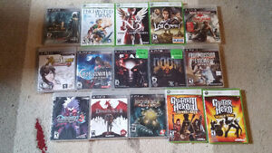 Assorted PS3 and Xbox 360 Games