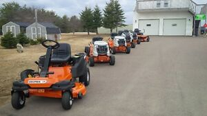 Columbia (MTD) premium brand lawn tractors, zero turns & blowers