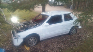 Mazda 323 WSCC Ice Racer Project (85% DONE) PLUS parts