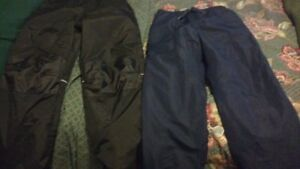 Two pairs of boys splash pants,