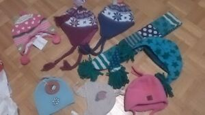 NEW girls winter hats and accessories, gymboree gap etc