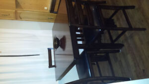 Beautiful pub height table and chairs