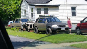 Honda Crv's (99) needs engine swapped ove  (01) roller parts car