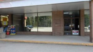 Commercial space available next to Sicamous major anchor store