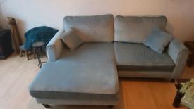 2 seater corner sofa