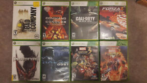 Various Xbox 360 and PS3 Games