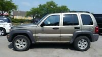 2003 JEEP LIBERTY 4X4, BRAND NEW TIRES, LOTS OF BRAND NEW PARTS City of Toronto Toronto (GTA) Preview