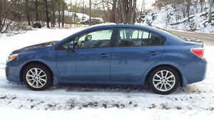 2013 Subaru Impreza Sedan, 2.0i Touring Package
