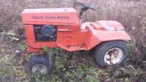 "Allis Chalmers 46"" Riding Mower for Parts or Project"