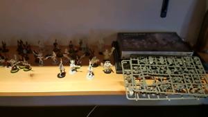 Warhammer 40k space marine et dark eldar