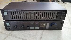 amplificateur et équalazer  KA-518.