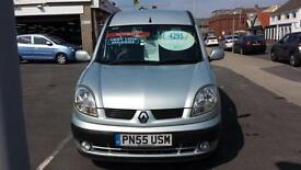 2005 RENAULT KANGOO 1.6 Expression Automatic From GBP3,495 + Retail Package