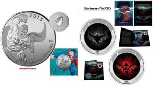 2015 Silver $20 Superman &  Batman V Superman Lenticular Coin