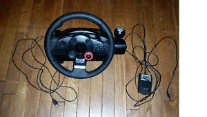 Logitech Driving Force GT wheel (for PS3 and PC)