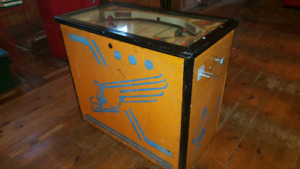 Antique Hockey Arcade Game