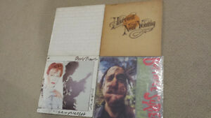 records bowie pink floyd neil young surfers