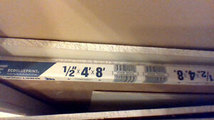 "Two 4 x 8 sheets 1/2"" drywall plus misc cuts Strathcona County Edmonton Area image 1"