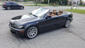 BMW 330CI cabriolet 6 vitesses manuelle