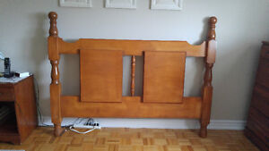Head Board - Solid Pine Queen Size