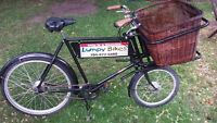 Pashley Delivery Bicycle by Lumpy Bikes