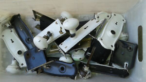Vintage door knob sets