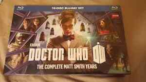 Doctor Who The Complete Matt Smith Years 16 Disc Blu-Ray set