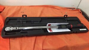 SNAP ON TECH WRENCH ELECTRONIC TORQUE WRENCH