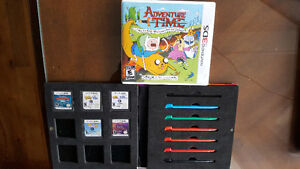 3DS and DS Games And game case