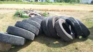 1 Lot of Tractor Trailer Tires for sale