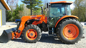 2015 Kubota M8560 Tractor Low Hours $59,000