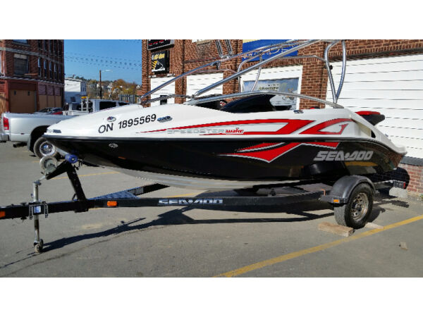 Used 2008 Sea Doo/BRP 200 SPEEDSTER WAKE 430
