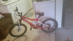 New Mountain bike $125 reduced $100