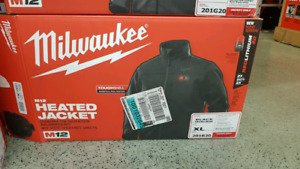 Milwaukee heated jackets for sale! All Brand new