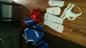 Boys sparring gear size 1