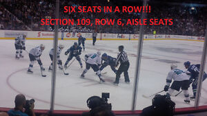 Premium Canucks Tickets - Four in a Row lower bowl