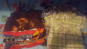 LOT OF SIZE 4  BOYS CLOTHES