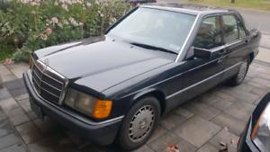 Amazing condition, low mileage Mercedes 190e 2.6