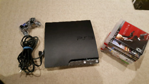 PlayStation 3 console and games