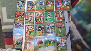 1999 Topps NFL cards(20)-Rice,Owens,E.Smith,Bledsoe,Faulk,Moon..