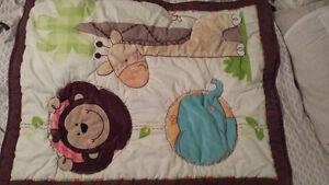 Infant item - bath, crib duvet, mat