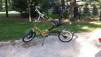 Gazelle Easy Glider semi recumbent bike from Holland