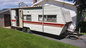 1984 24 foot Prowler camper