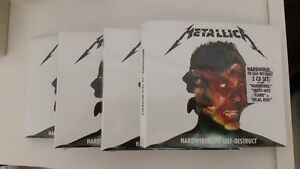 METALLICA DOUBLE CD - BRAND NEW IN PACKAGE